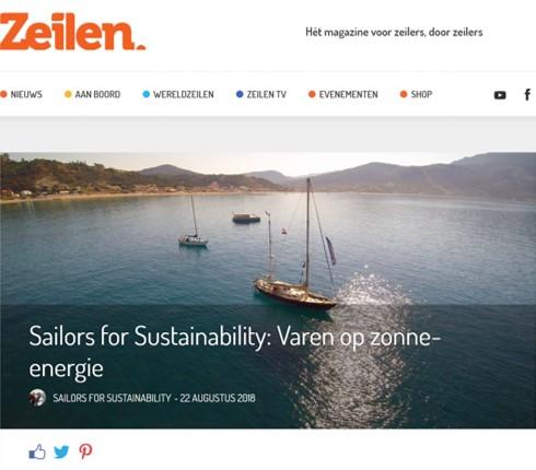 Zeilen-Magazin veröffentlicht Artikel über die SolarWave
