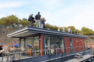 Filmcrew des WDR auf dem Dach vom CruisingHome