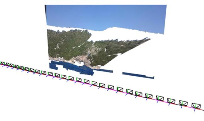 Photosynth - Kameraweg
